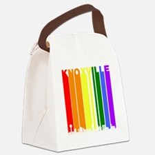 Knoxville Tennessee Gay Pride Rainbow Skyline Canv