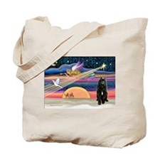 Xmas Star & Bouvier Tote Bag