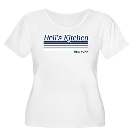 Hell's Kitchen New York Women's Plus Size Scoop Ne
