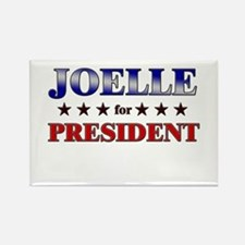 JOELLE for president Rectangle Magnet