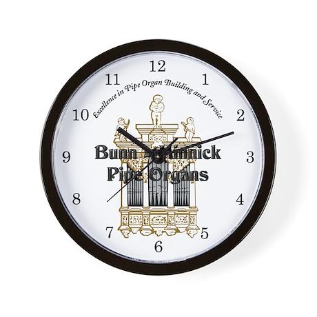 Bunn=minnick Company Wall Clock