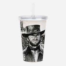 Clint Eastwood Black a Acrylic Double-wall Tumbler