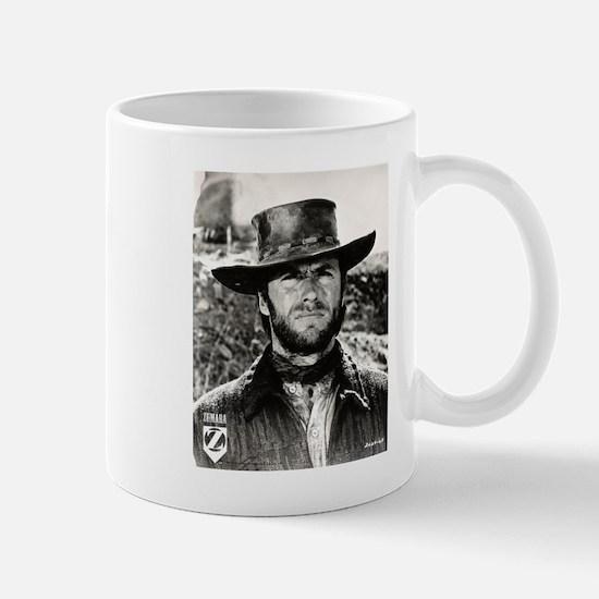 Clint Eastwood Black and White Mug