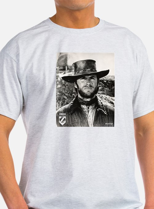 Clint Eastwood Black and White T-Shirt