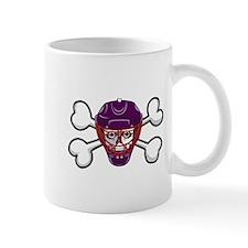 Hockey Skull & Crossbones Mug