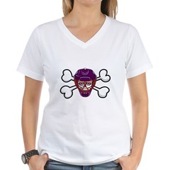 Hockey Skull & Crossbones Shirt