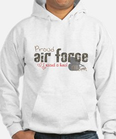 Proud Air Force Mom Hoodie