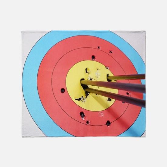 Cute Archery Throw Blanket