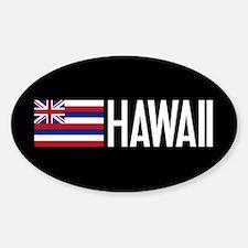 Hawaii: Hawaiin Flag & Hawaii Decal