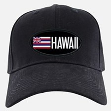 Hawaii: Hawaiin Flag & Hawaii Baseball Hat