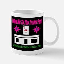 Cute Pink flamingo trailer trash Mug