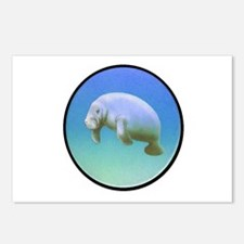 MANATEE Postcards (Package of 8)