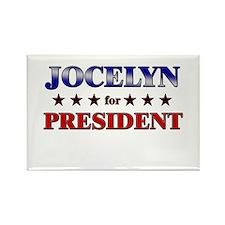 JOCELYN for president Rectangle Magnet