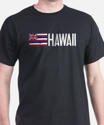 Hawaii: Hawaiin Flag & Hawaii T-Shirt