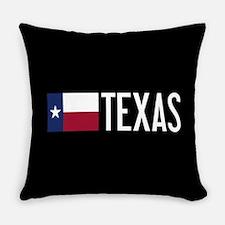 Texas: Texan Flag & Texas Everyday Pillow