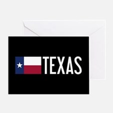 Texas: Texan Flag & Texas Greeting Card
