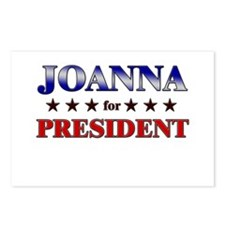 JOANNA for president Postcards (Package of 8)