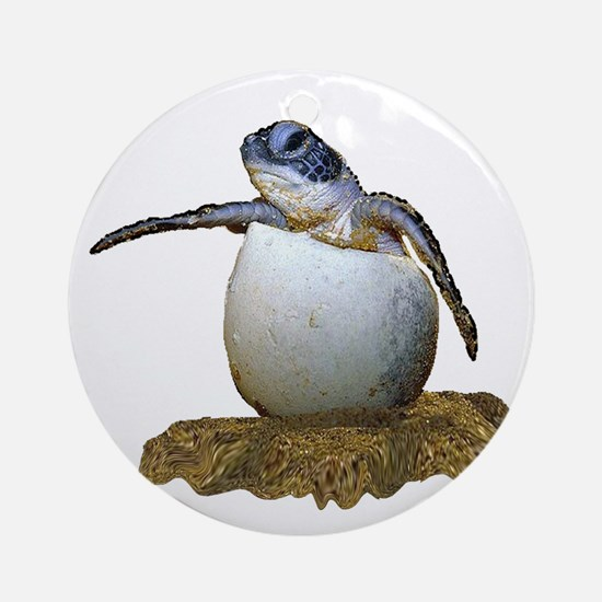 HATCHLING Round Ornament