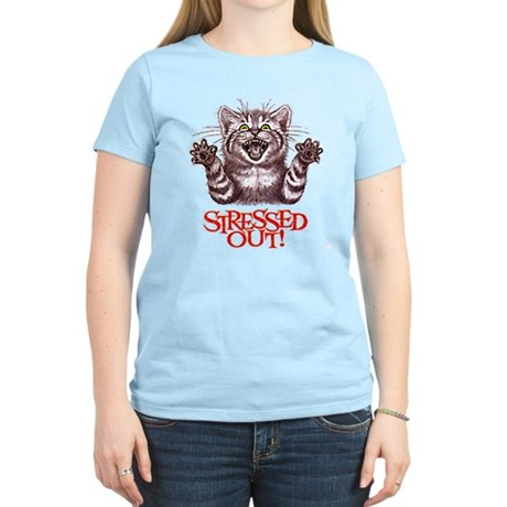 STRESSED OUT Women's Light T-Shirt