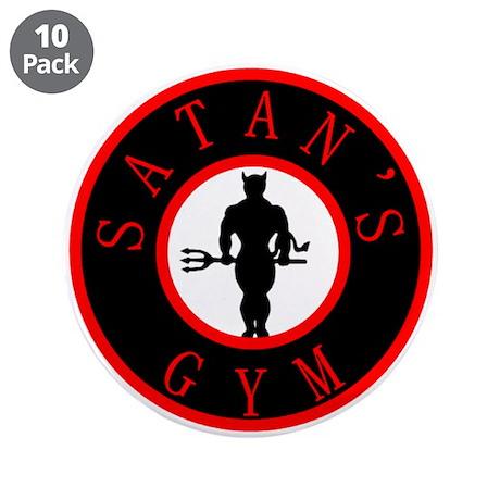 "Satan's Gym 2 3.5"" Button (10 pack)"