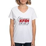KFDI Women's V-Neck T-Shirt