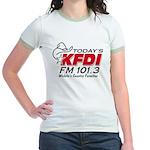 KFDI Jr. Ringer T-Shirt