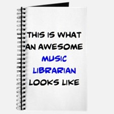 awesome music librarian Journal