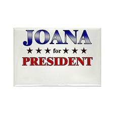JOANA for president Rectangle Magnet (10 pack)