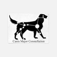 Canis Major 5'x7'Area Rug