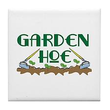 Garden Hoe Tile Coaster
