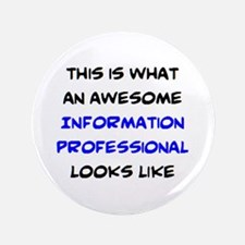 awesome information professional Button