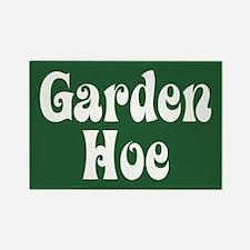 Garden Hoe Gardening Rectangle Magnet