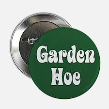 """Garden Hoe Gardening 2.25"""" Button"""