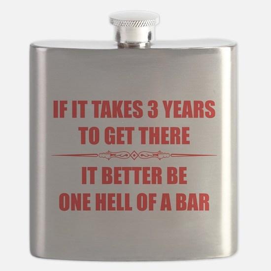 Pass Bar Exam Gifts Flask