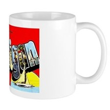 Michigan Greetings Mug