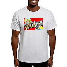 Michigan Greetings (Front) T-Shirt