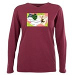 Nature Quote Collage Plus Size Long Sleeve Tee