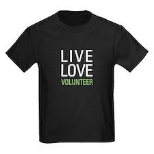 Live Love Volunteer T