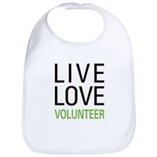Live Love Volunteer Bib
