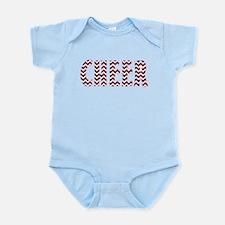 Red Chevron Cheer Body Suit