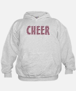 Red Chevron Cheer Hoodie