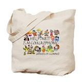 Clown Regular Canvas Tote Bag