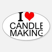 I Love Candle Making Decal