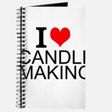 I Love Candle Making Journal
