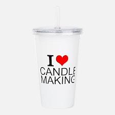 I Love Candle Making Acrylic Double-wall Tumbler