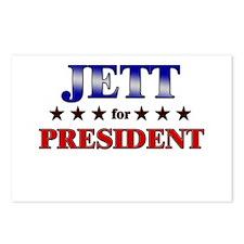 JETT for president Postcards (Package of 8)