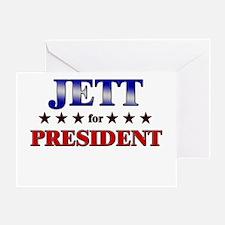 JETT for president Greeting Card