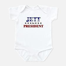 JETT for president Infant Bodysuit