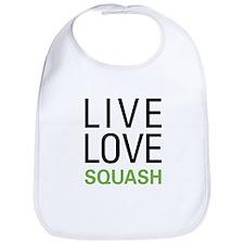 Live Love Squash Bib