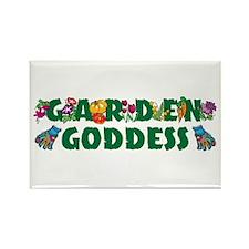Garden Goddess Rectangle Magnet